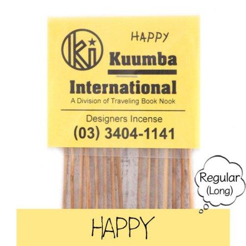 KUUMBA クンバ|INCENSE regular (HAPPY)(お香 レギュラーサイズ)