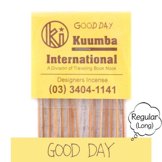 KUUMBA クンバ|INCENSE regular (GOOD DAY)(お香 レギュラーサイズ)