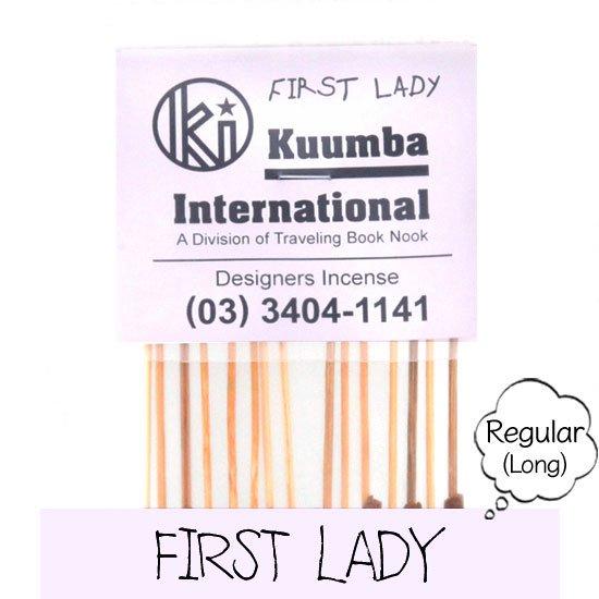 KUUMBA クンバ INCENSE regular (FIRST LADY)(お香 レギュラーサイズ)