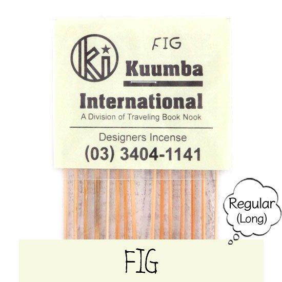 KUUMBA クンバ|INCENSE regular (FIG)(お香 レギュラーサイズ)