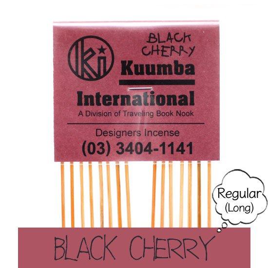 KUUMBA クンバ|INCENSE regular (BLACK CHERRY)(お香 レギュラーサイズ)
