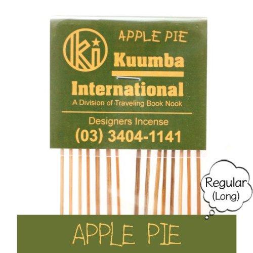 KUUMBA クンバ|INCENSE regular (APPLE PIE)(お香 レギュラーサイズ)