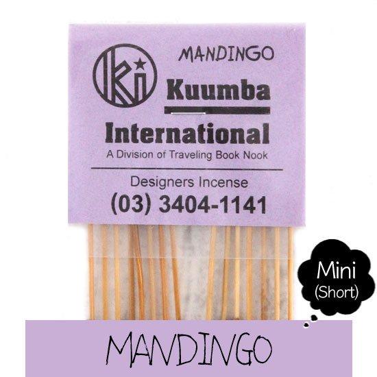 KUUMBA クンバ|INCENSE mini (MANDINGO)(お香 ミニサイズ)