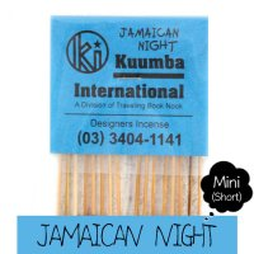 KUUMBA クンバ|INCENSE mini (JAMAICAN NIGHT)(お香 ミニサイズ)