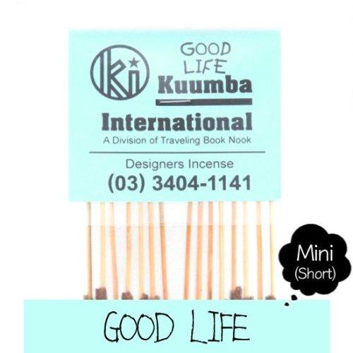 KUUMBA クンバ|INCENSE mini (GOOD LIFE)(お香 ミニサイズ)