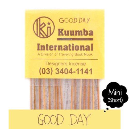 KUUMBA クンバ|INCENSE mini (GOOD DAY)(お香 ミニサイズ)