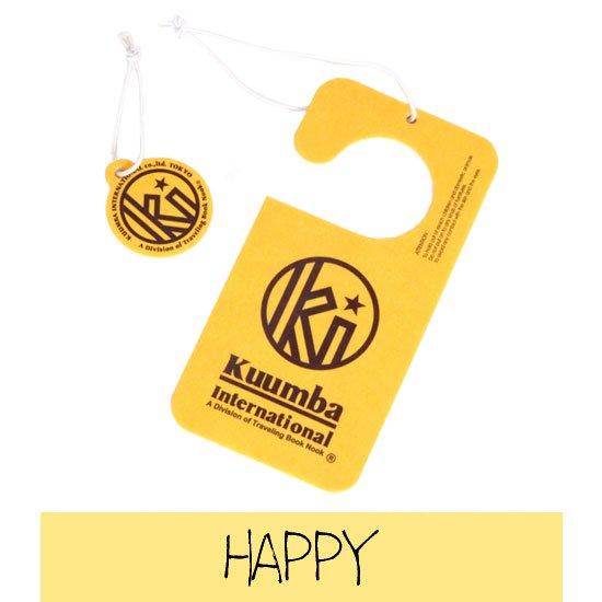 KUUMBA クンバ|PAPER FRESHENER (HAPPY)(ペーパー カータグ)