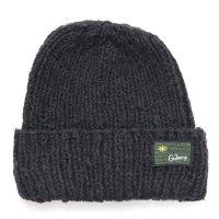 GO HEMP ゴーヘンプ|PREMICA WATCH CAP (ブラック)(ヘンプウール ニット帽)
