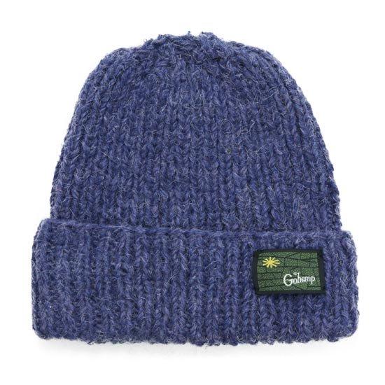 GO HEMP ゴーヘンプ PREMICA WATCH CAP (ブルー)(ヘンプウール ニット帽)