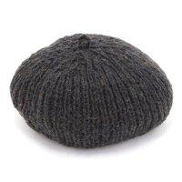 GO HEMP ゴーヘンプ|PREMICA BERET (ブラック)(ヘンプウール ベレー帽)