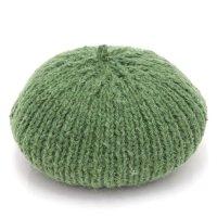 GO HEMP ゴーヘンプ|PREMICA BERET (グリーン)(ヘンプウール ベレー帽)