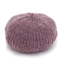 GO HEMP ゴーヘンプ|PREMICA BERET (パープル)(ヘンプウール ベレー帽)