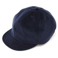 Nasngwam ナスングワム|SPLASH CAP CORDUROY (ネイビー)(スプラッシュキャップ)