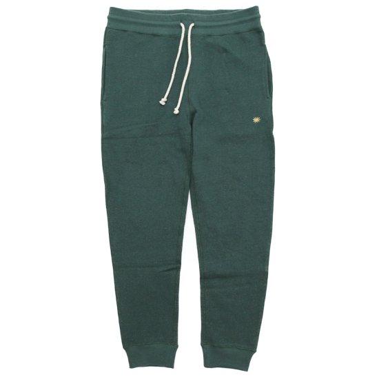 GO HEMP ゴーヘンプ SLIM RIB SWEAT PANTS (ツリーグリーン)(スウェットパンツ)