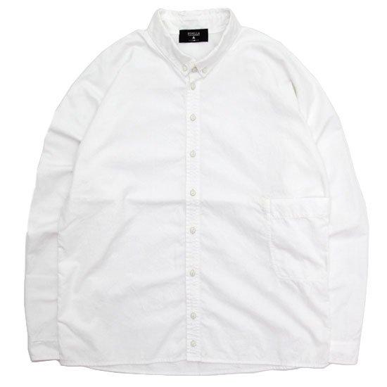 remilla レミーラ|ドルマンダンガリーシャツ (ホワイト)(シャツ)