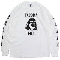 TACOMA FUJI RECORDS タコマフジレコード|LOGO MARK L/SL TEE (ホワイト)(ロンTEE)