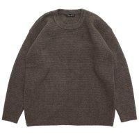 Nasngwam ナスングワム|YARD SWEATER EX (モカ)(セーター)