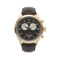 TIMEX タイメックス|TW2P75300 Waterbury Chronograph (ゴールド)(逆輸入 腕時計)