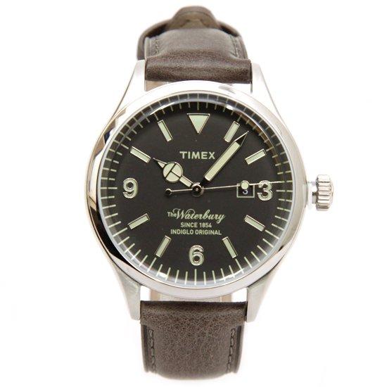 TIMEX タイメックス|TW2P75000 Waterbury Chronograph (シルバー)(腕時計)