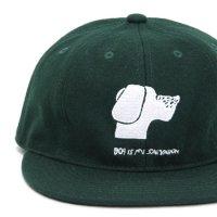 TACOMA FUJI RECORDS タコマフジレコード|DOG IS MY SALVATION CAP (ダークグリーン)(キャップ)