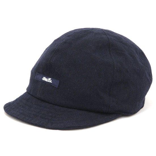remilla レミーラ クロス帽 (ダークネイビー)(キャップ)