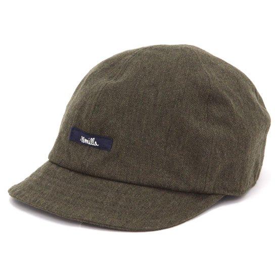 remilla レミーラ クロス帽 (カーキ)(キャップ)