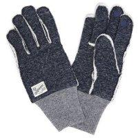 kepani ケパニ|Saguaro-2 裏起毛スウェットグローブ (ダークネイビー)(スマホも使える手袋)