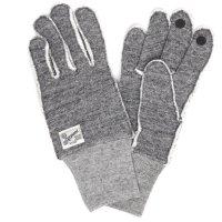 kepani ケパニ|Saguaro-2 裏起毛スウェットグローブ (グレイ)(スマホも使える手袋)