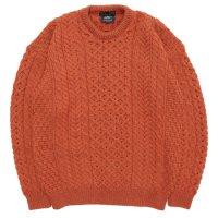 Nasngwam ナスングワム|ARAN KNIT (オレンジ)(セーター)