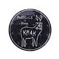 KM4K カモシカ|DECK PAD (ブラック)(デッキパッド)