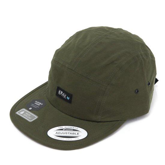 KM4K カモシカ|JET CAP (バック オリーブ)(ジェットキャップ)