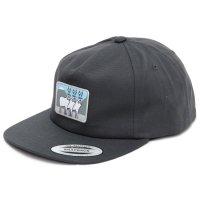 KM4K カモシカ|DAD CAP (チャコール)(キャップ)