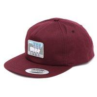KM4K カモシカ|DAD CAP (マルーン)(キャップ)