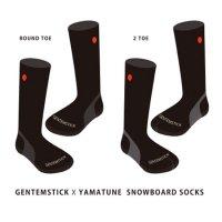 GENTEMSTICK ゲンテンスティック|GENTEMSTICK x YAMAtune SNOWBOARD SOCKS ご予約受付ページ (ソックス)