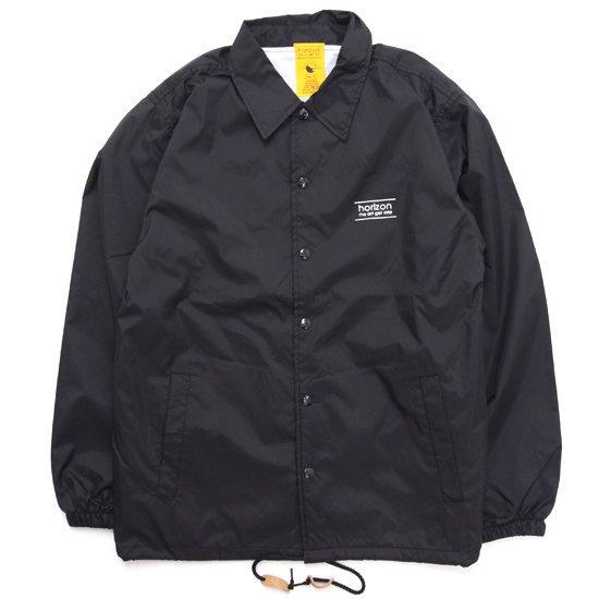 horizon ホライズン  Sun coach jacket (ブラック)(コーチジャケット)