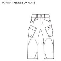 【20-21 予約商品】MountainSurf マウンテンサーフ|FREE RIDE DX PANTS (フリーライドパンツ)