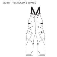 【20-21 予約商品】MountainSurf マウンテンサーフ|FREE RIDE DX BIB PANTS (フリーライドビブパンツ)