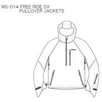 【20-21 予約商品】MountainSurf マウンテンサーフ|FREE RIDE DX PULLOVER JACKET (プルオーバージャケット)