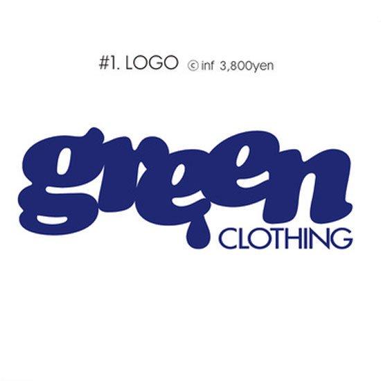 GREEN CLOTHING グリーンクロージング #1 LOGO TEE (ロゴ)(プリントTシャツ)