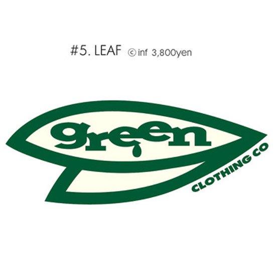 GREEN CLOTHING グリーンクロージング #5 LEAF TEE (プリントTシャツ)