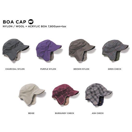 GREEN CLOTHING グリーンクロージング|20-21 BOA CAP (ボアキャップ)
