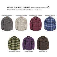 GREEN CLOTHING グリーンクロージング|20-21 WOOL FLANNEL SHIRTS (ウールフランネルシャツ)