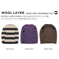 GREEN CLOTHING グリーンクロージング|WOOL LAYER (メリノウール ファーストレイヤー)