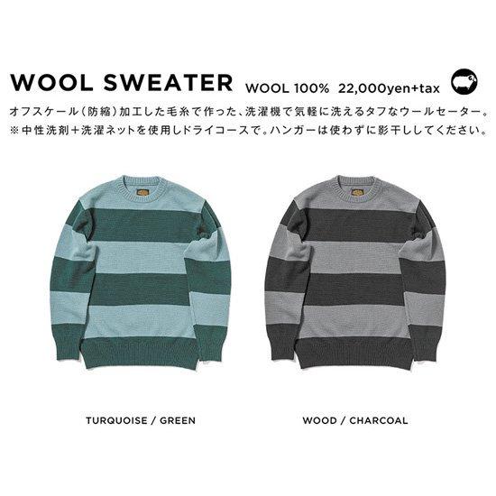 GREEN CLOTHING グリーンクロージング|WOOL SWEATER (ウールセーター)