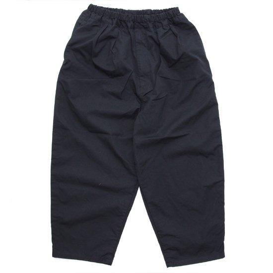 ORDINARY FITS オーディナリーフィッツ NARROW BALL PANTS (ブラック)(イージーパンツ ユニセックスアイテム)