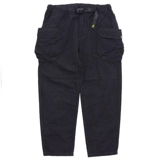 GO HEMP ゴーヘンプ WEATHER HEMP UTILITY PANTS (ブラック)(イージーパンツ )
