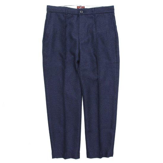 melple メイプル|Summer Tweed Pants (ネイビー)(イージーパンツ)