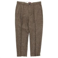 melple メイプル|Summer Tweed Pants (ブラウン)(イージーパンツ)