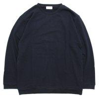 SPINNER BAIT スピナーベイト|ミニ裏毛 サイドポケットクルー (スミクロ)(ロンTEE)