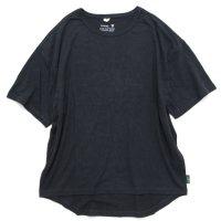GO HEMP ゴーヘンプ|HONEY TEE (ガンメタルグレイ)(Tシャツ)